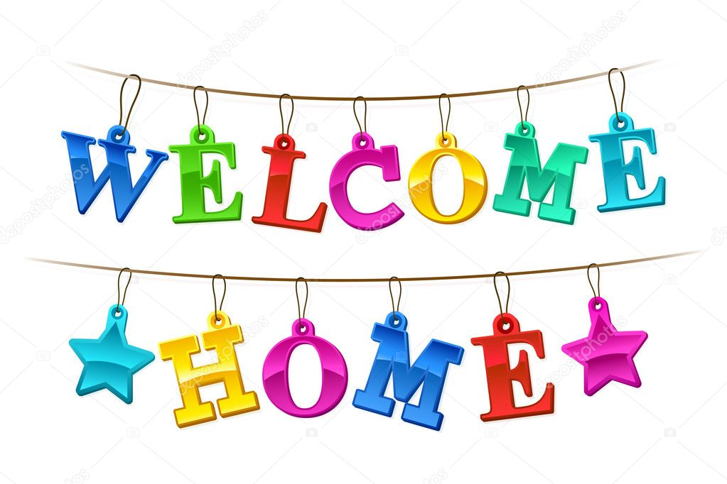 welcome back banner print
