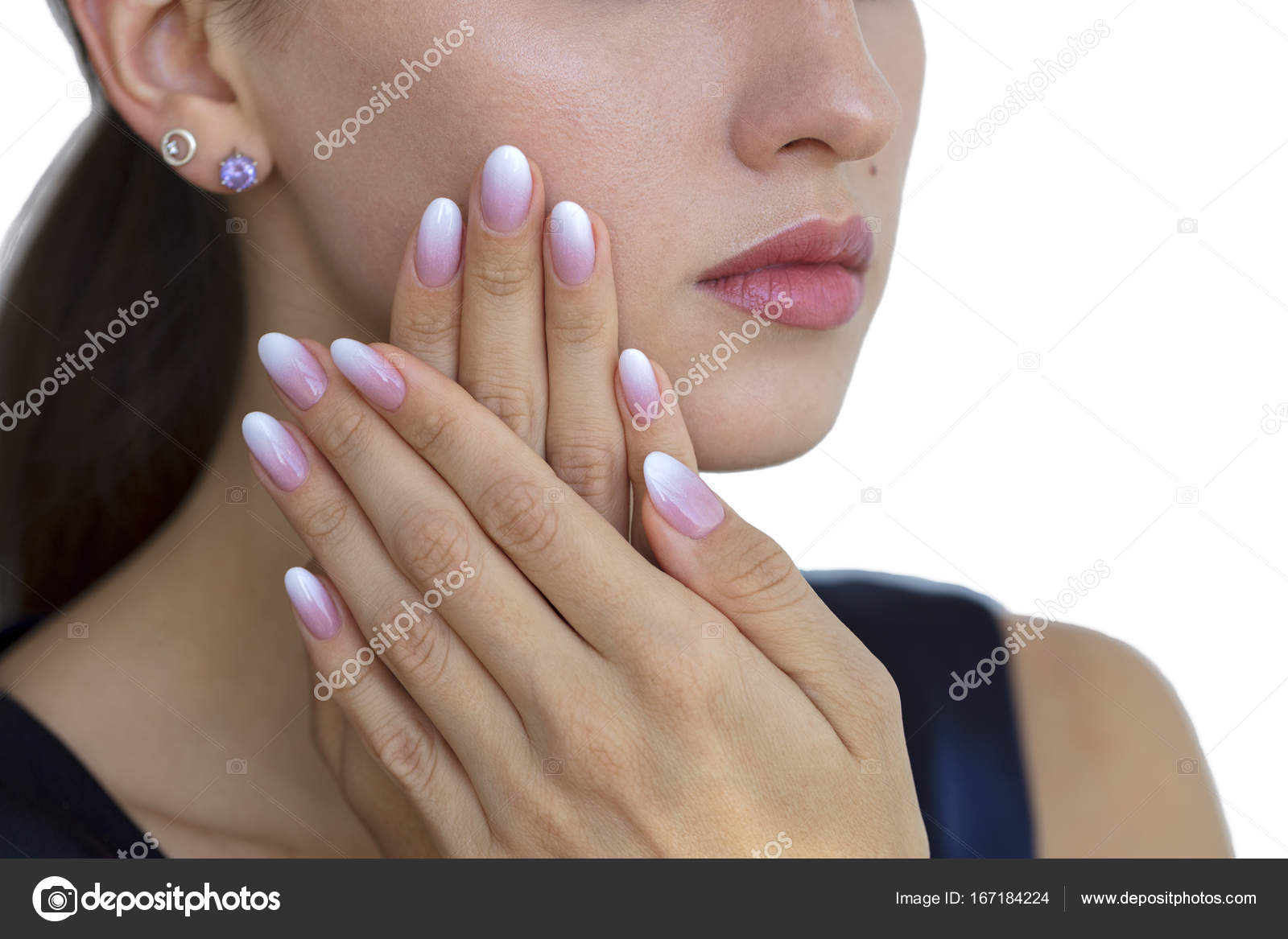 Images Ombre Nails Beautiful Woman S Nails With Beautiful