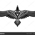 ᐈ Celtic Raven Tattoo Stock Images Royalty Free Celtic Crow Vectors Download On Depositphotos