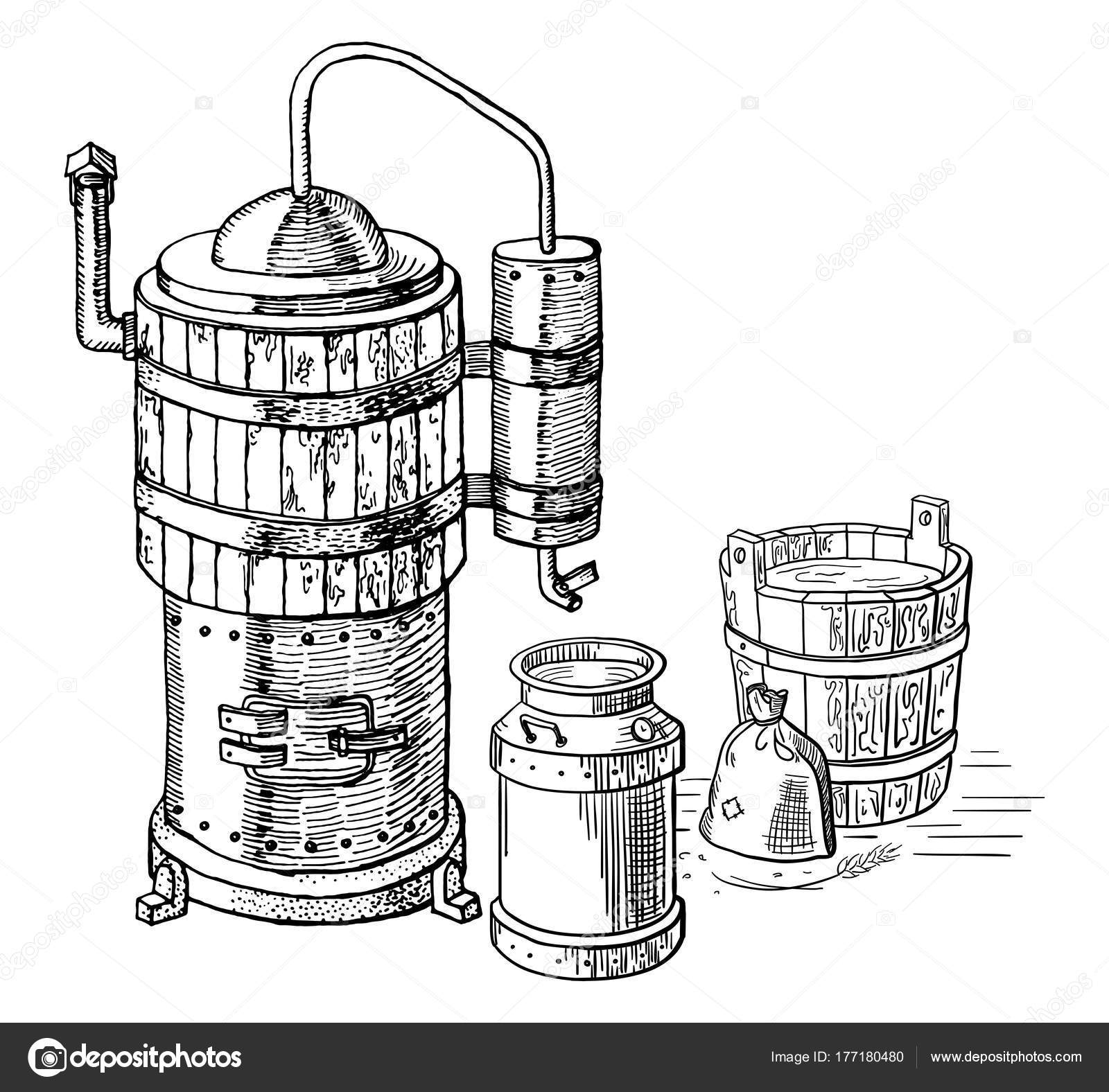 Alcohol Distillation Process