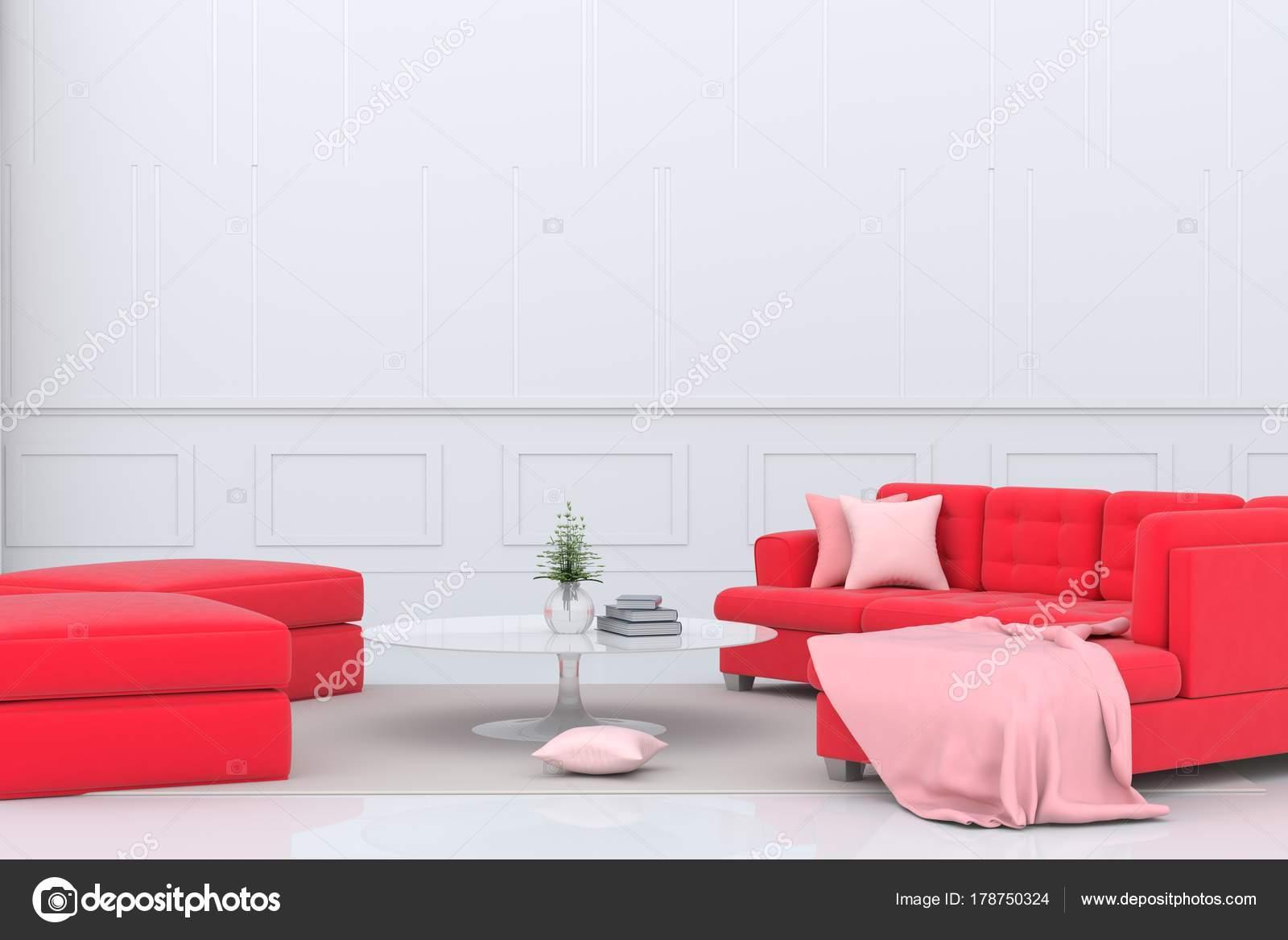 Decoration Salon Avec Canap Rouge Interesting Canap Futon
