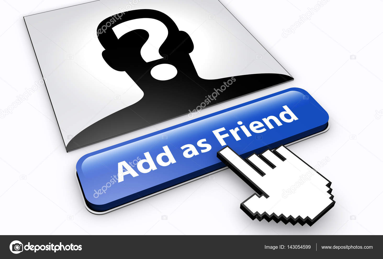 Social Network Cyber Safety Concept