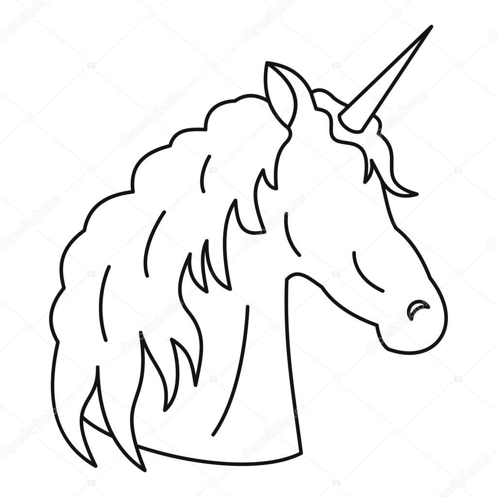 Icono De Unicornio