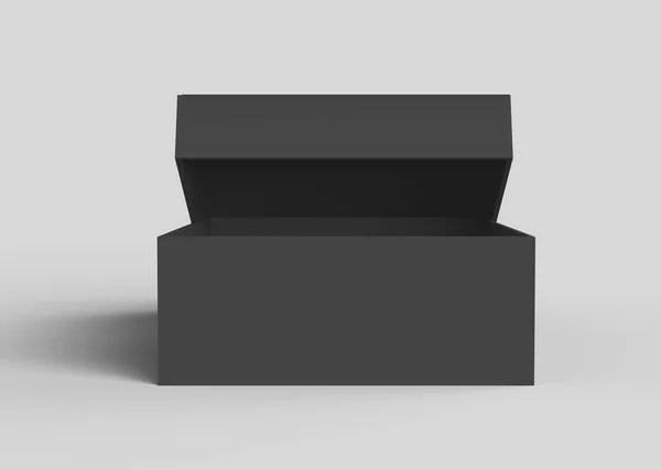 Download Flat black box mockup — Stock Photo © kchungtw #163389676