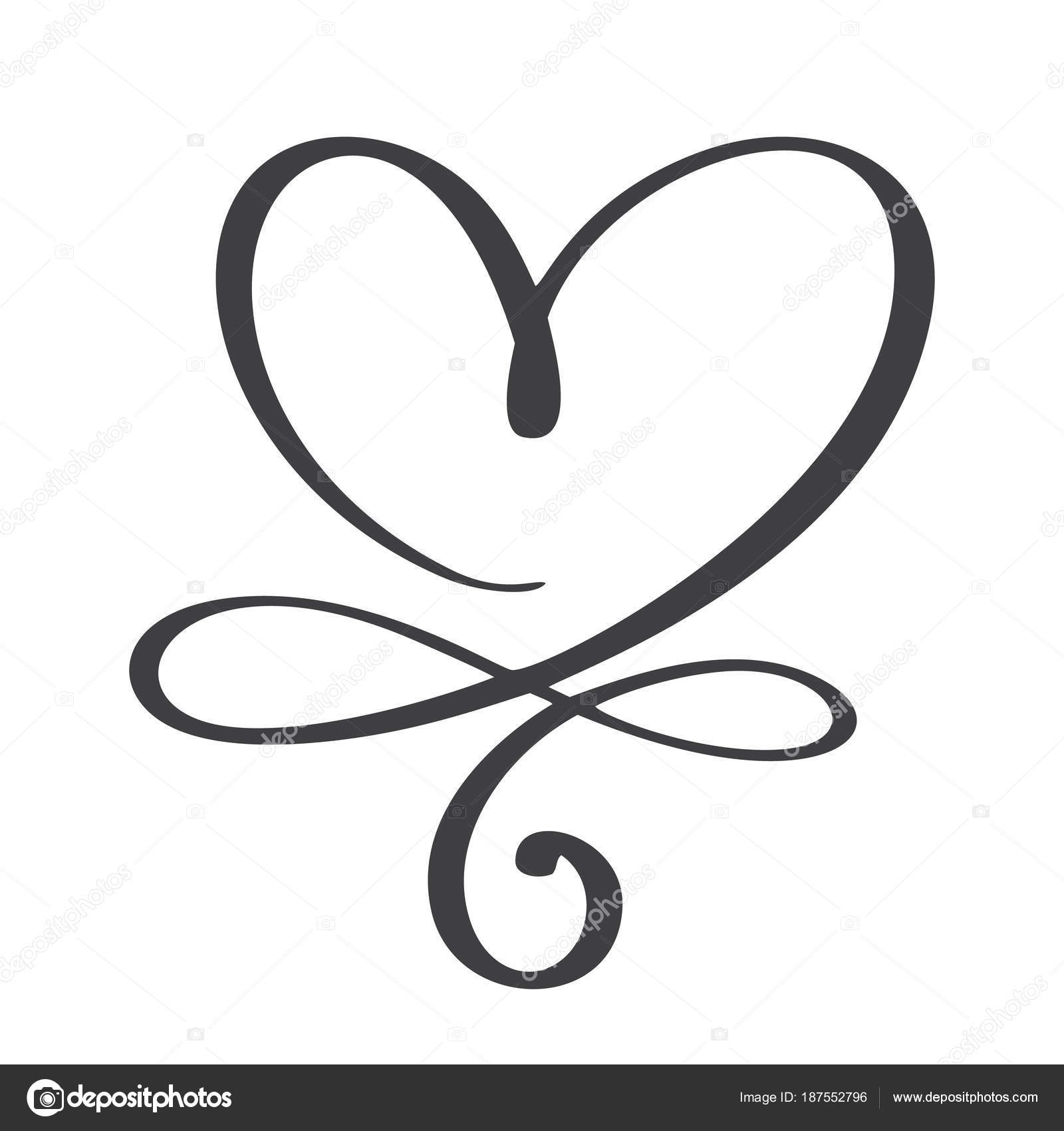 Heart Love Sign Forever Infinity Romantic Symbol Linked