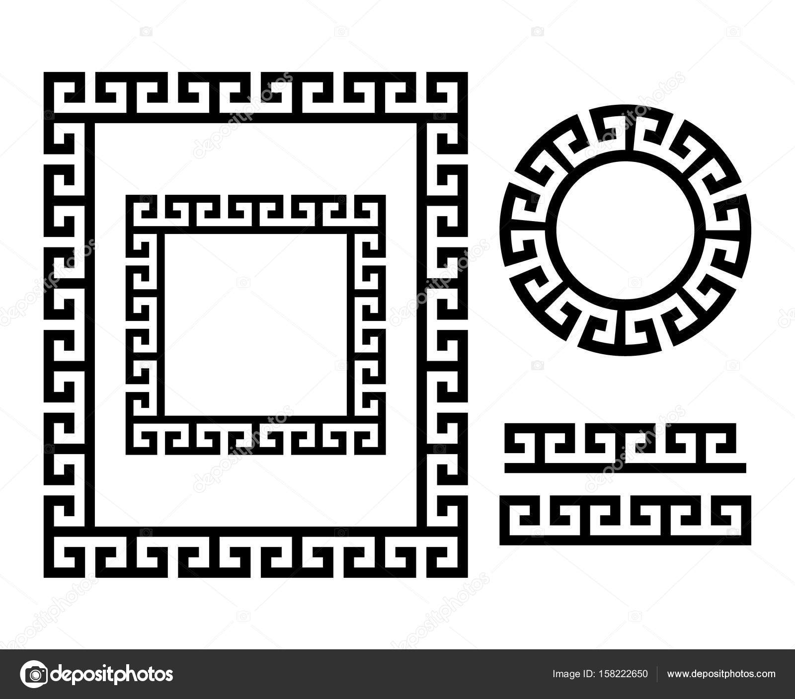 Ancient Greek Frame And Border