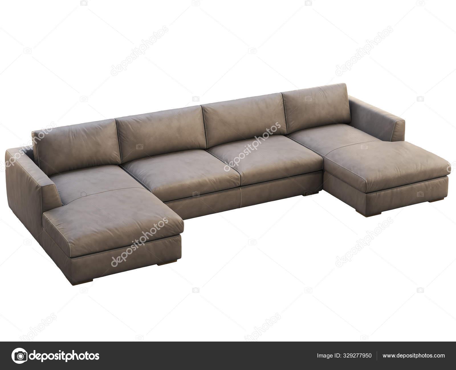 https depositphotos com 329277950 stock photo chalet modular brown leather upholstery html