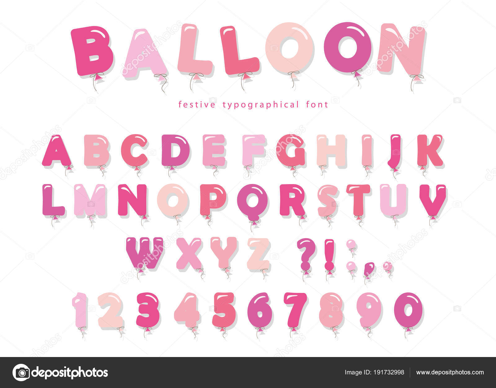 Cute Baby Shower Fonts