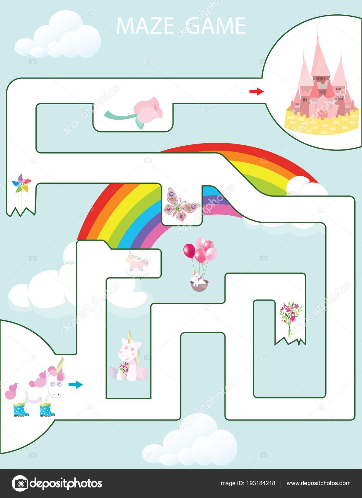 Juegos De Baby Shower Para Nios Laberintos T Maze