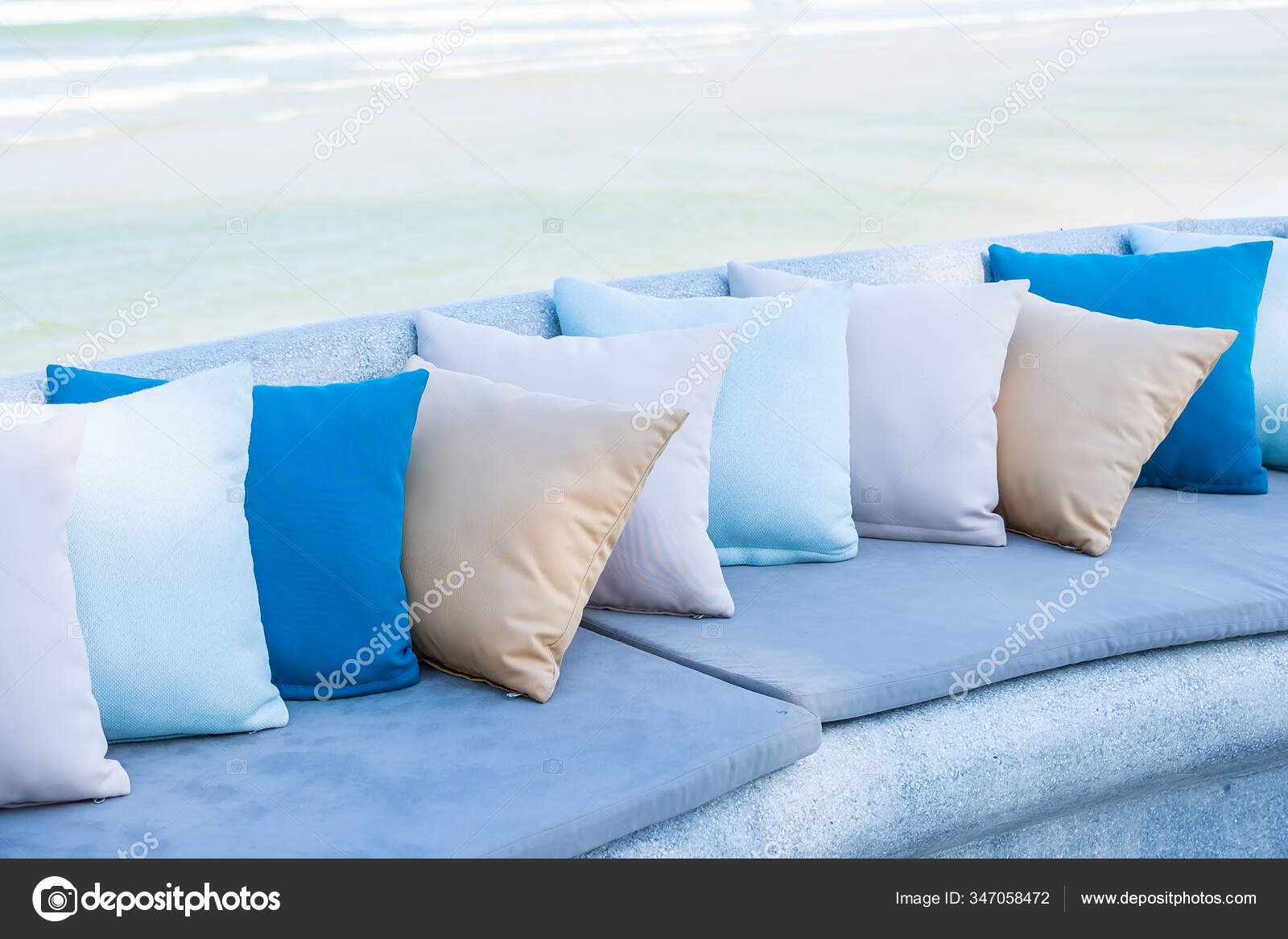 https depositphotos com 347058472 stock photo pillow chair sofa lounge outdoor html