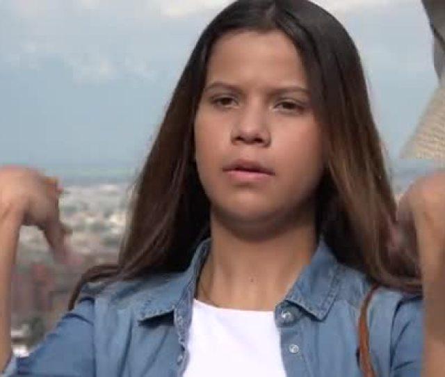 Hot Teen Girl During Summer Stock Footage