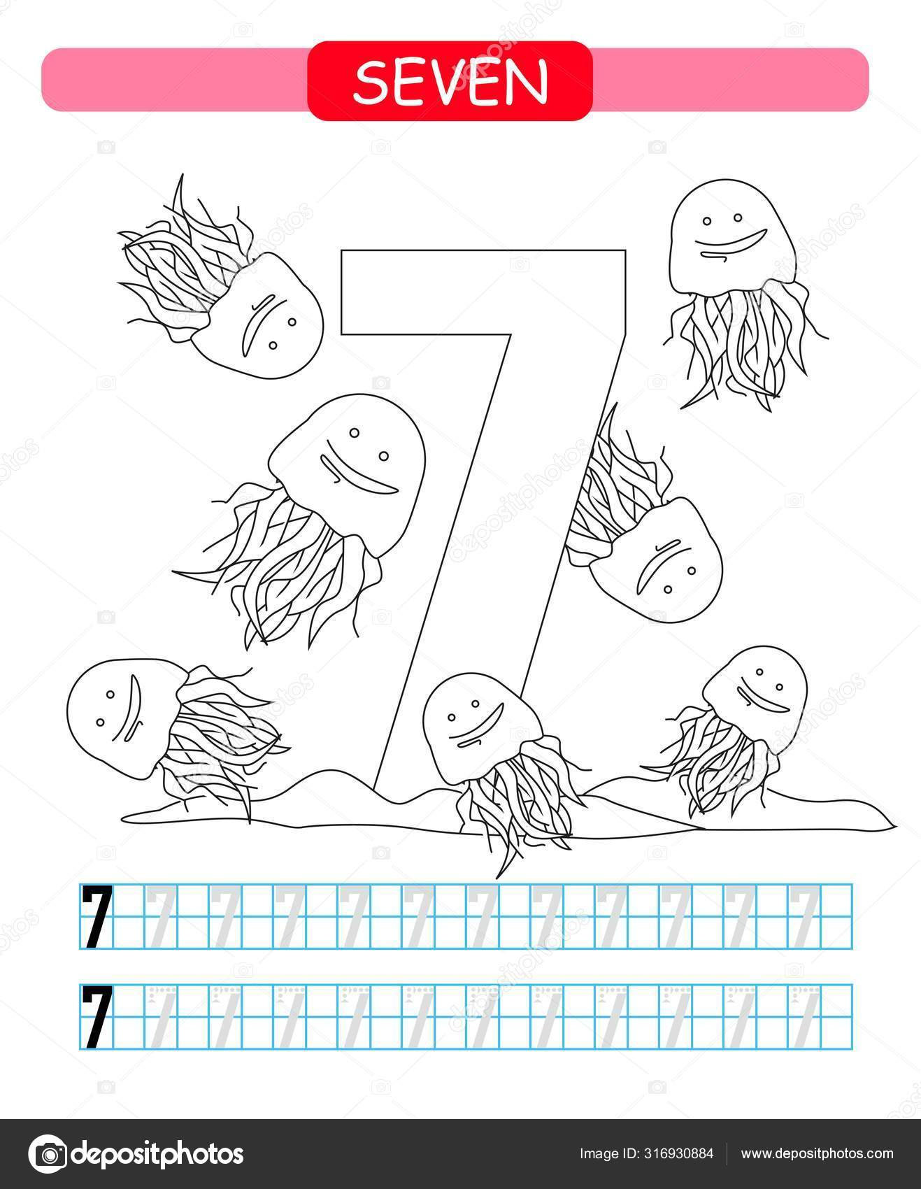 Jellyfish Worksheet Preschool