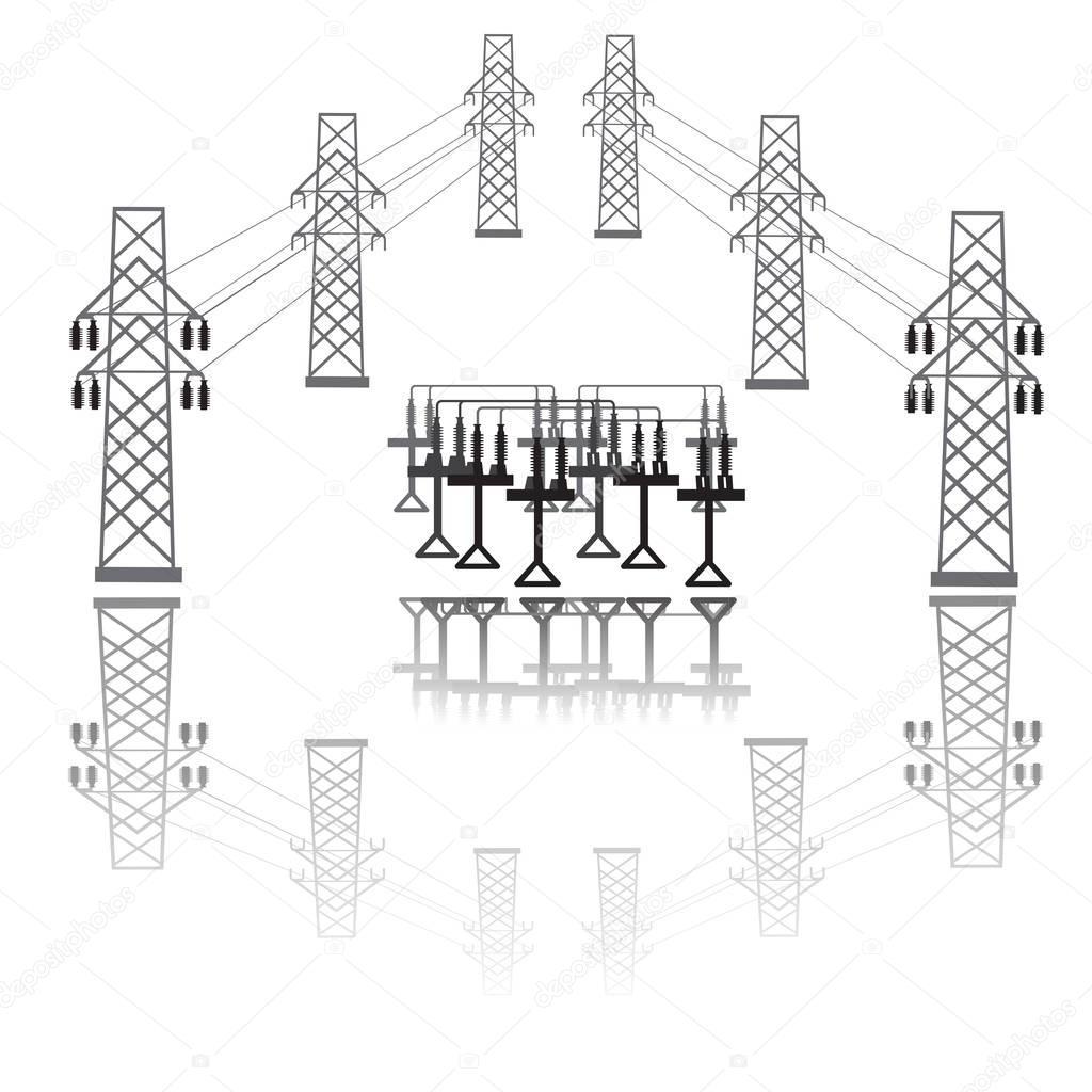 Icono Subestacion Electrica