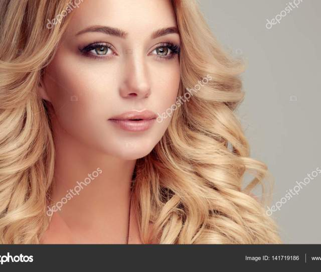 Beautiful Blonde Hair Girl Stock Image