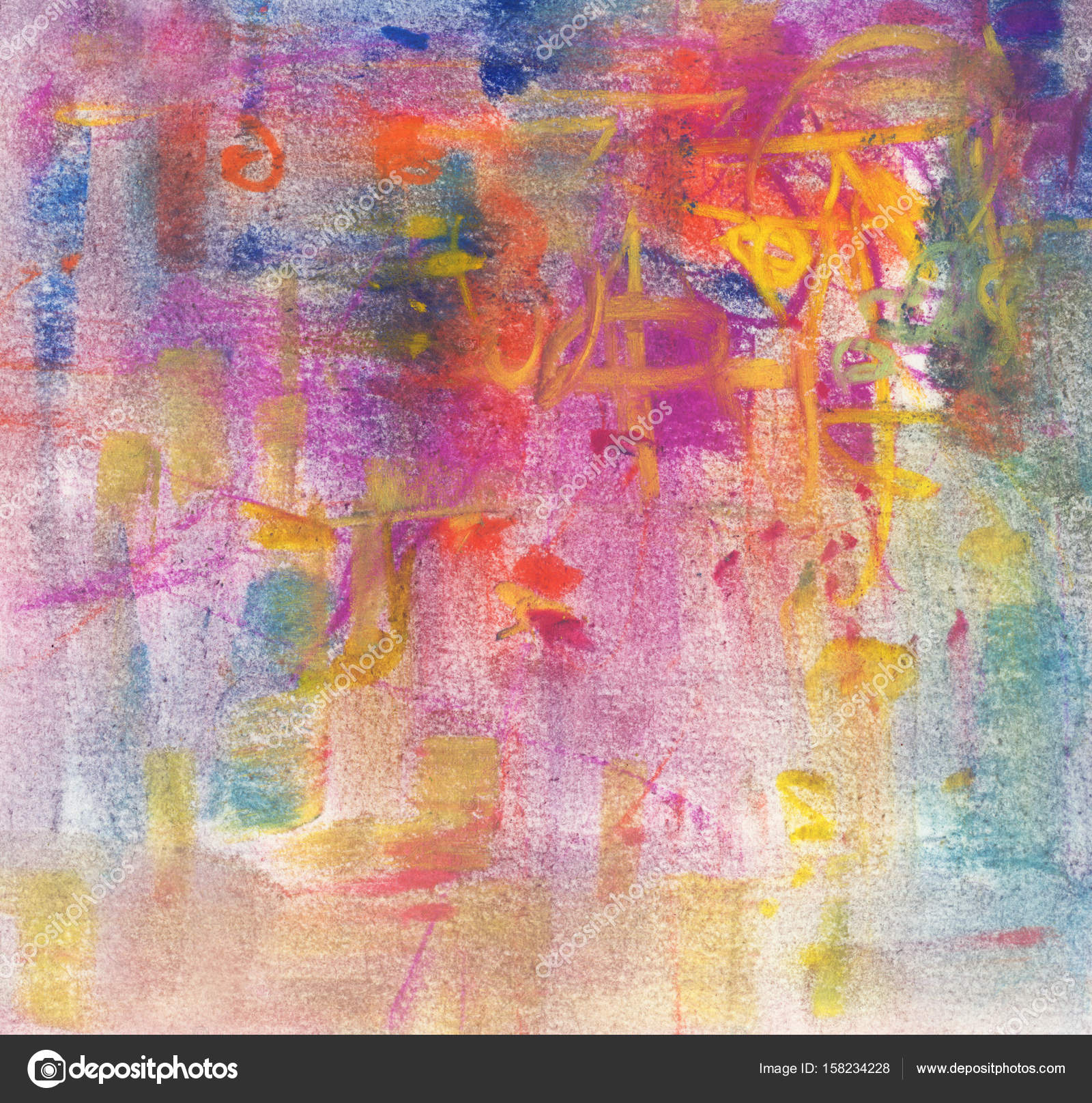 Abstract Pastel Painting Artistic Background