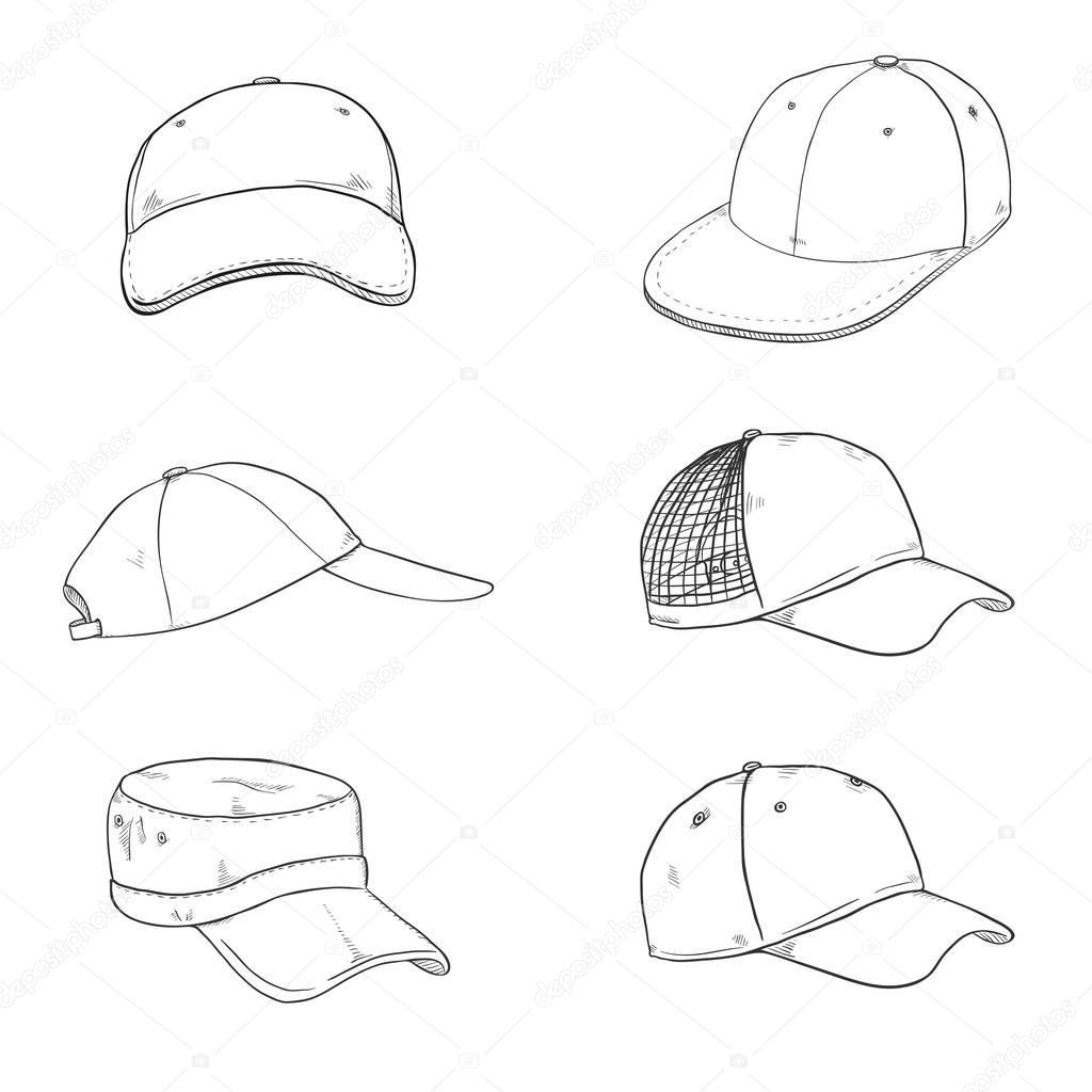 Qicaiyang NASA Mesh Hat Trucker Baseball Cap