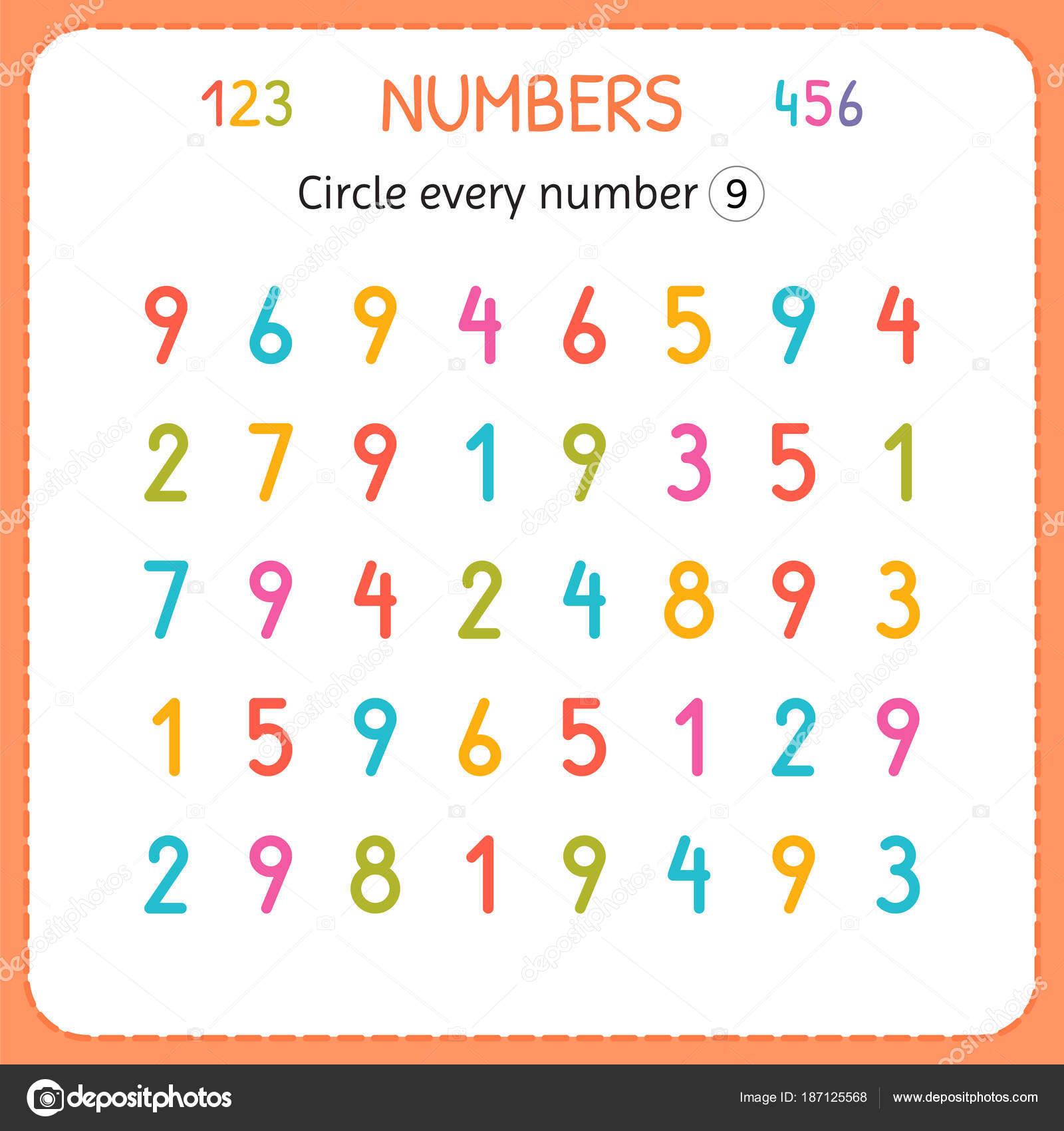 Circle Worksheet For Kids