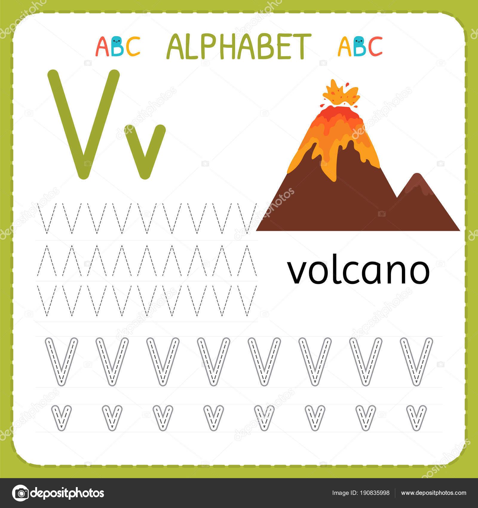Alphabet Ablaufverfolgung Arbeitsblatt Fur Vorschule Und