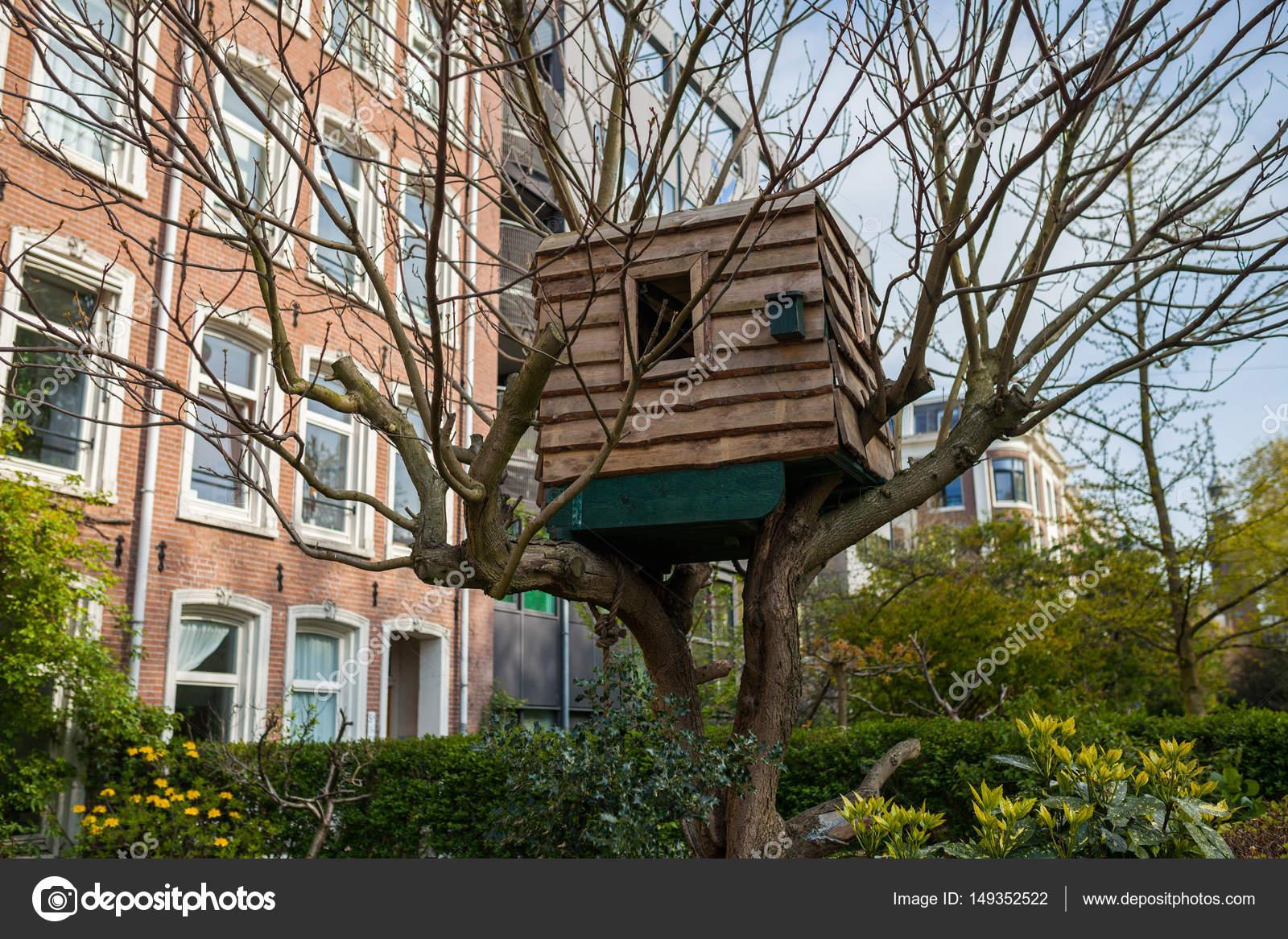 Children Tree House In Amsterdam Stock Photo C Sashk0 149352522