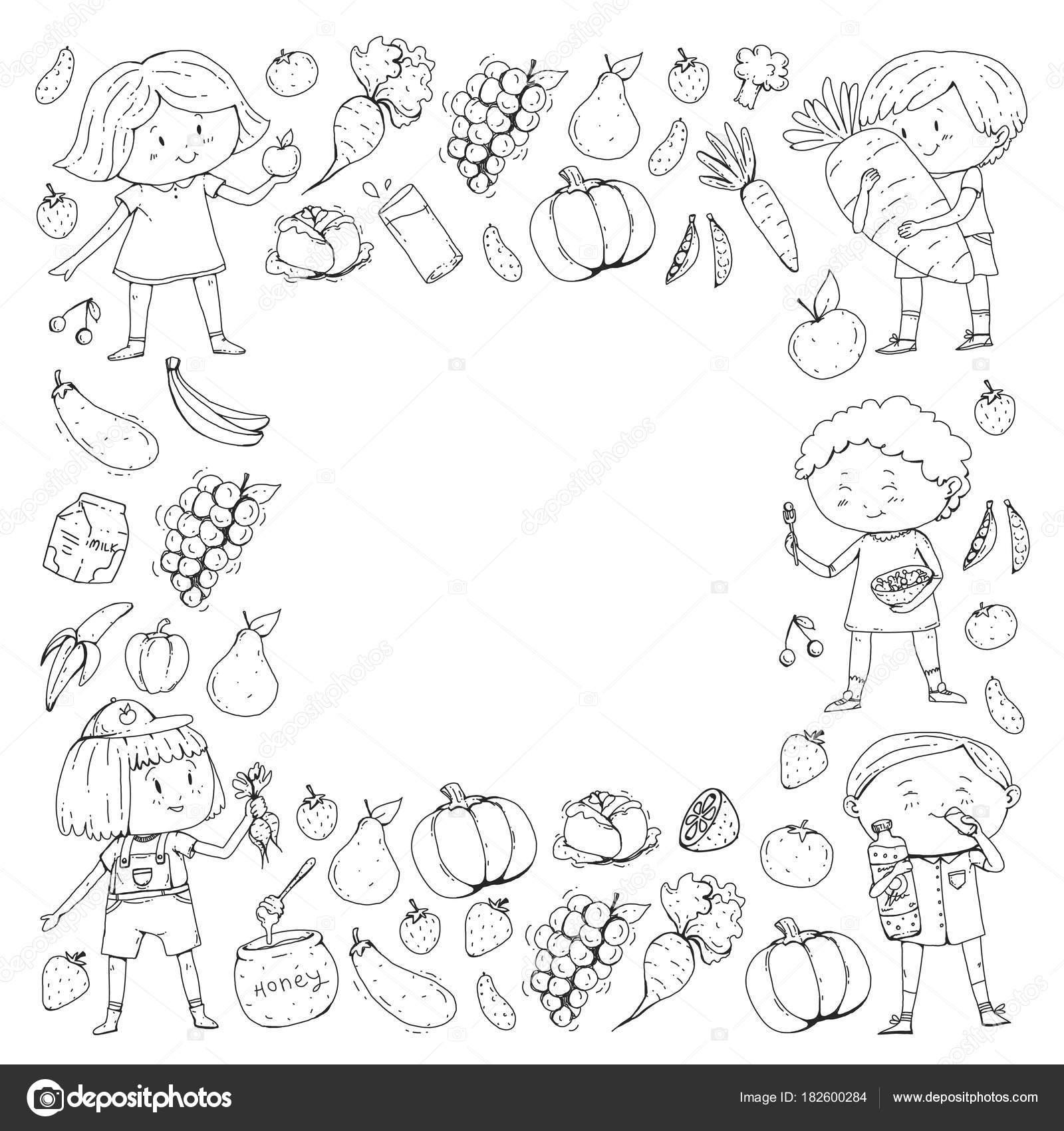 Comida Preschool Worksheet