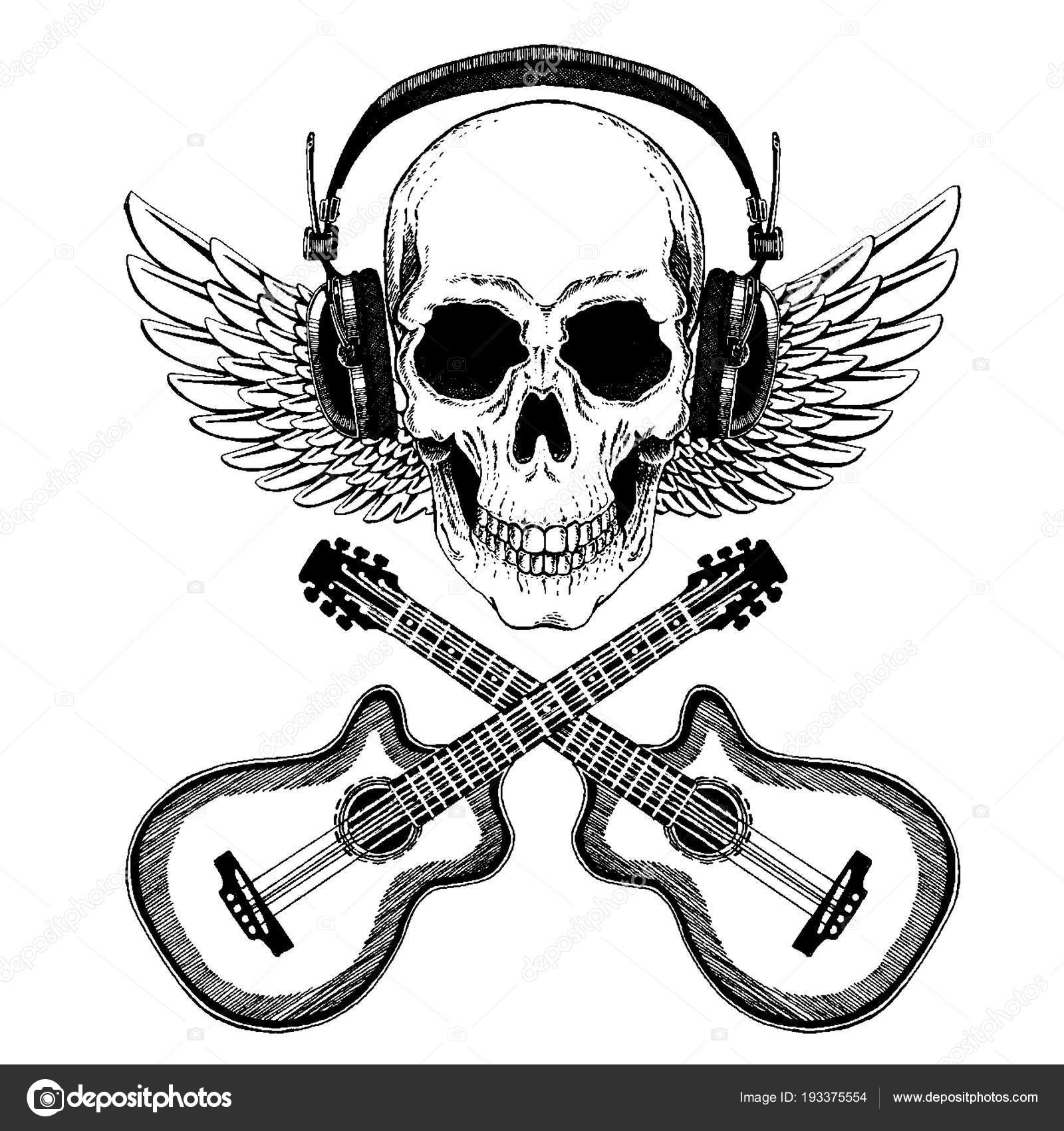 Calavera Rock T Hintergrnde Totenkpfe Y