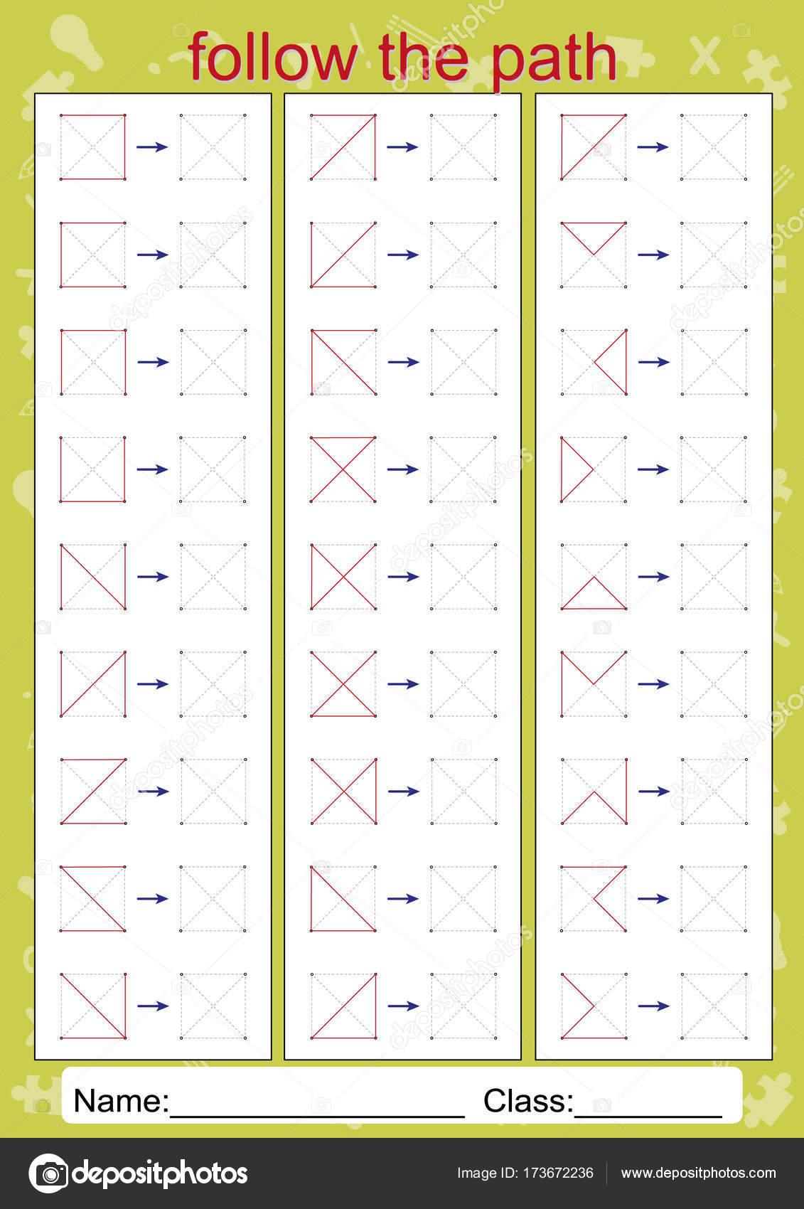 Visual Motor Worksheets