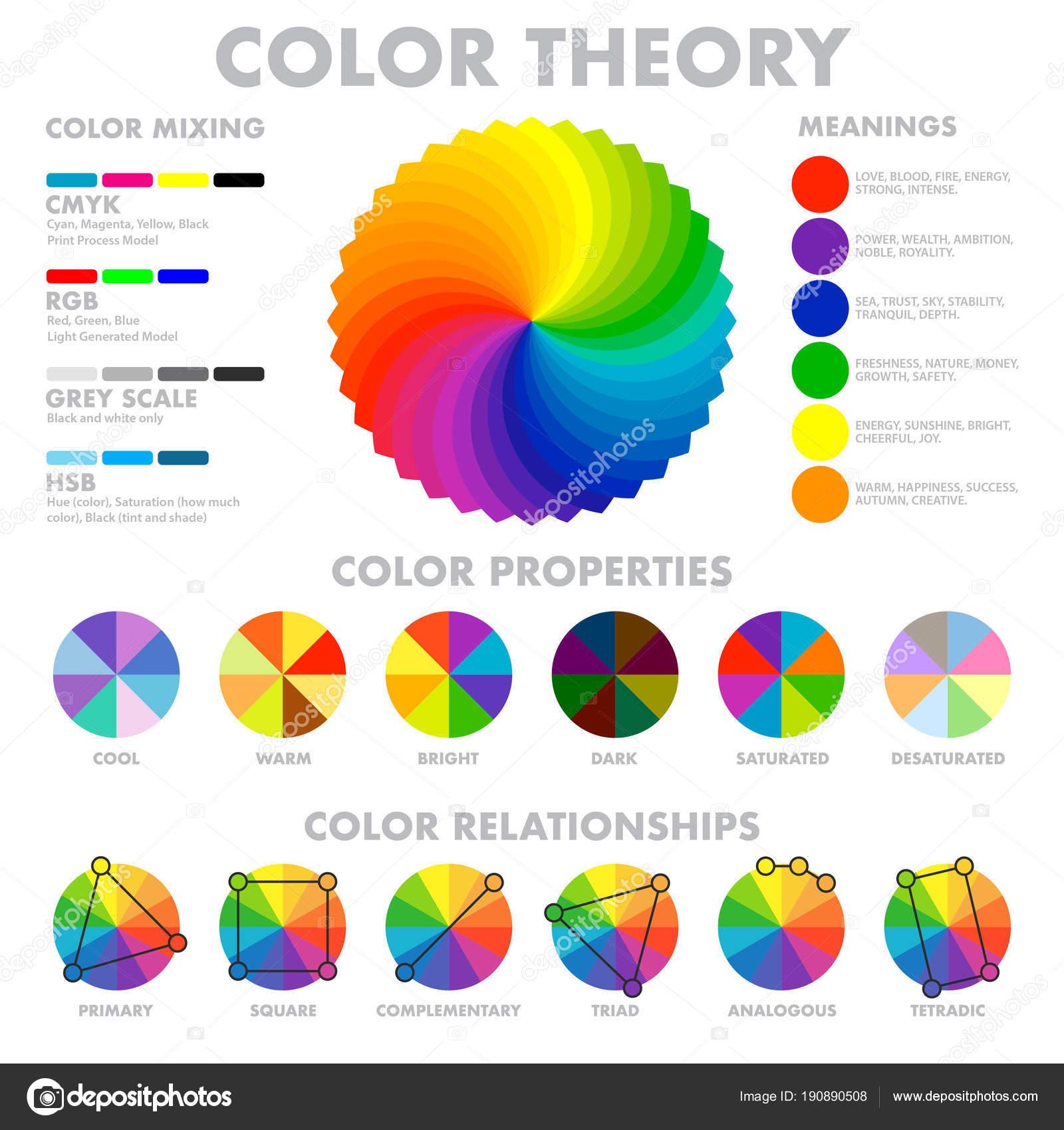 Vector Combinacion De Colores