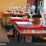 Tables Set Fine Dining Restaurant Stock Photo C 678studio 185081418