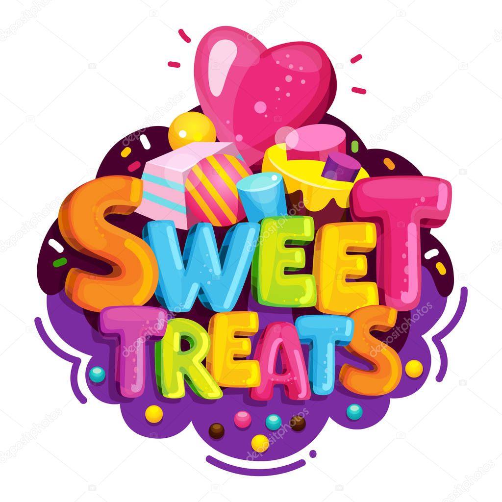 Download Images: treats cartoon | Sweet Treats Cartoon Vector Logo ...