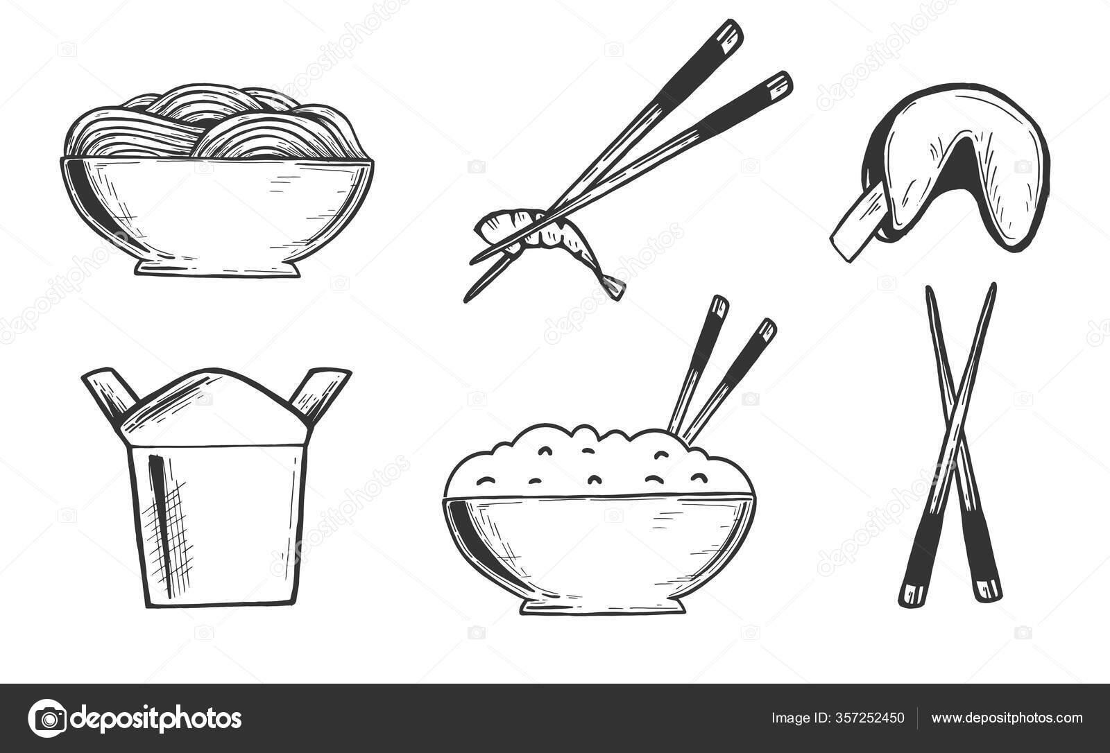 Koleksi 26 Contoh Gambar Mewarnai Bakul Nasi Kataucap Gambar bakul nasi hitam putih