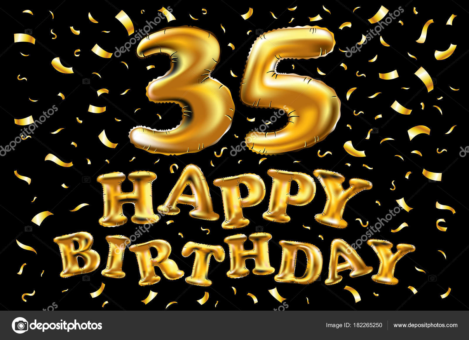 https depositphotos com 182265250 stock illustration 35th birthday celebration with gold html