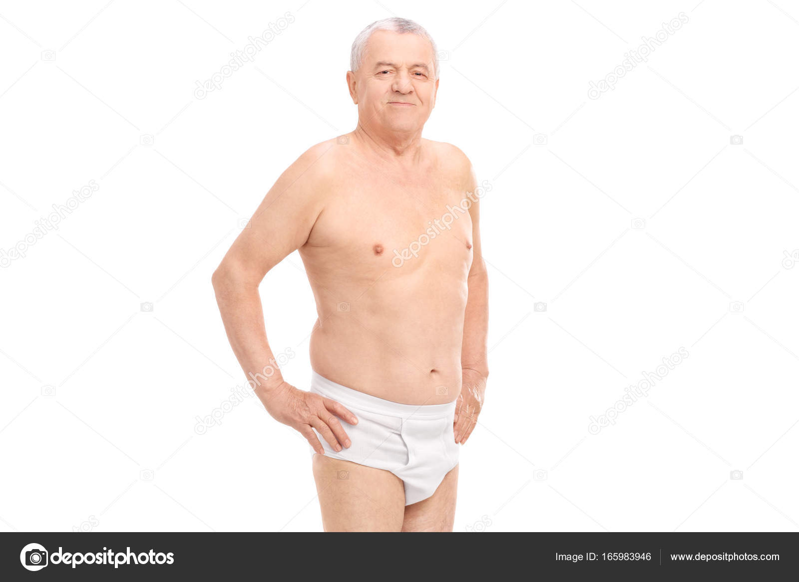 Older Fat Men Underwear