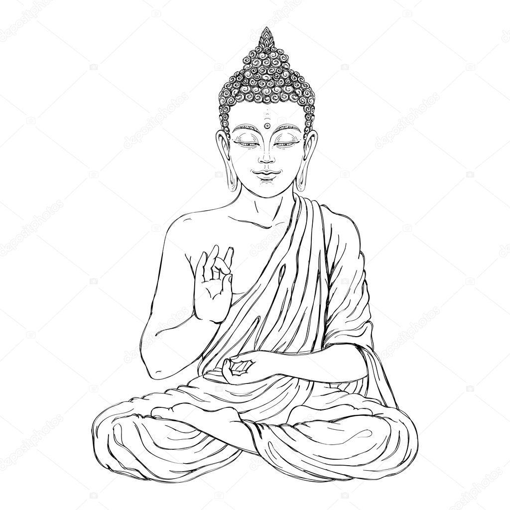 Sediciho Buddhy V Lotosove Pozici