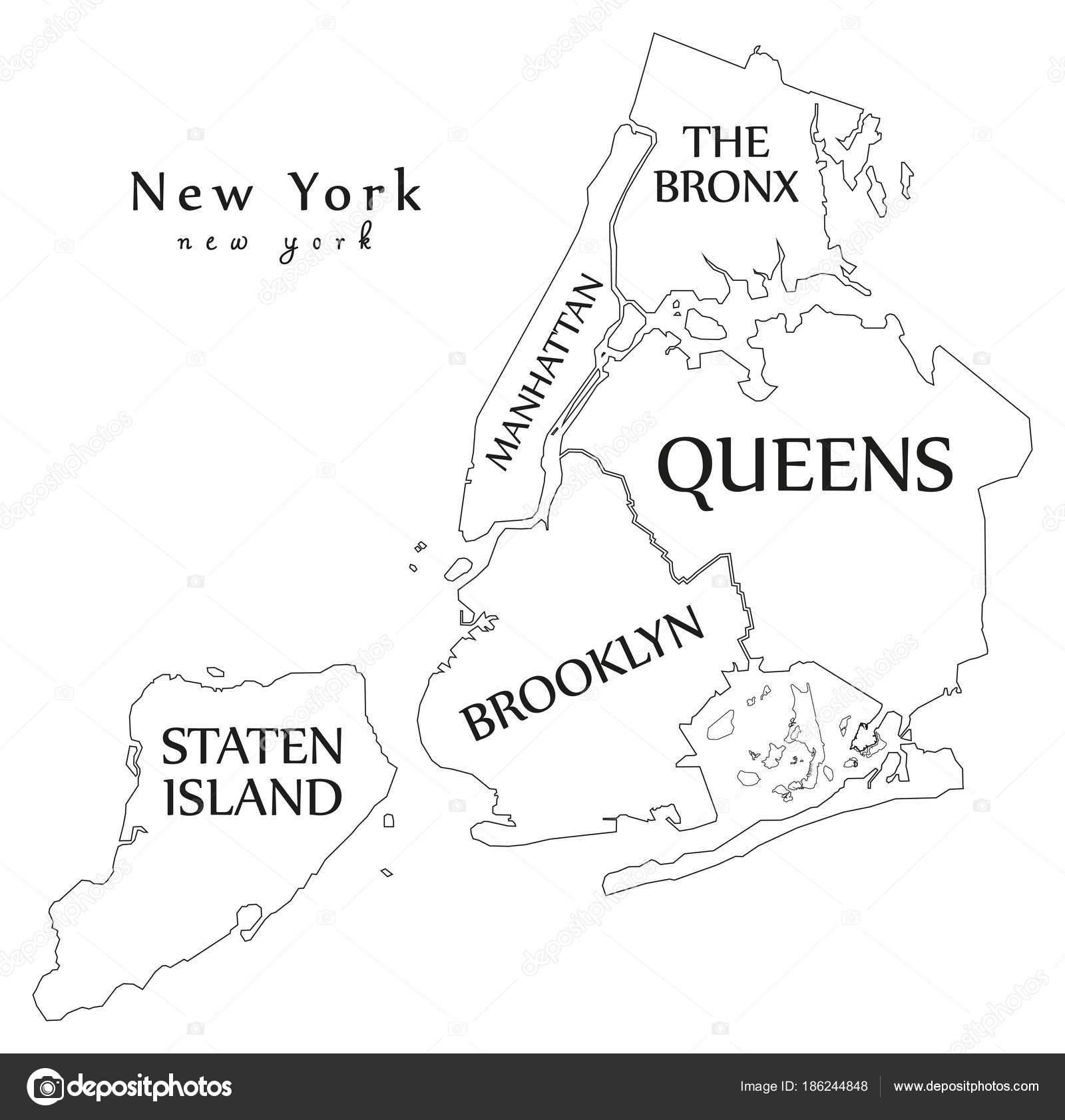 Map Of Ne York