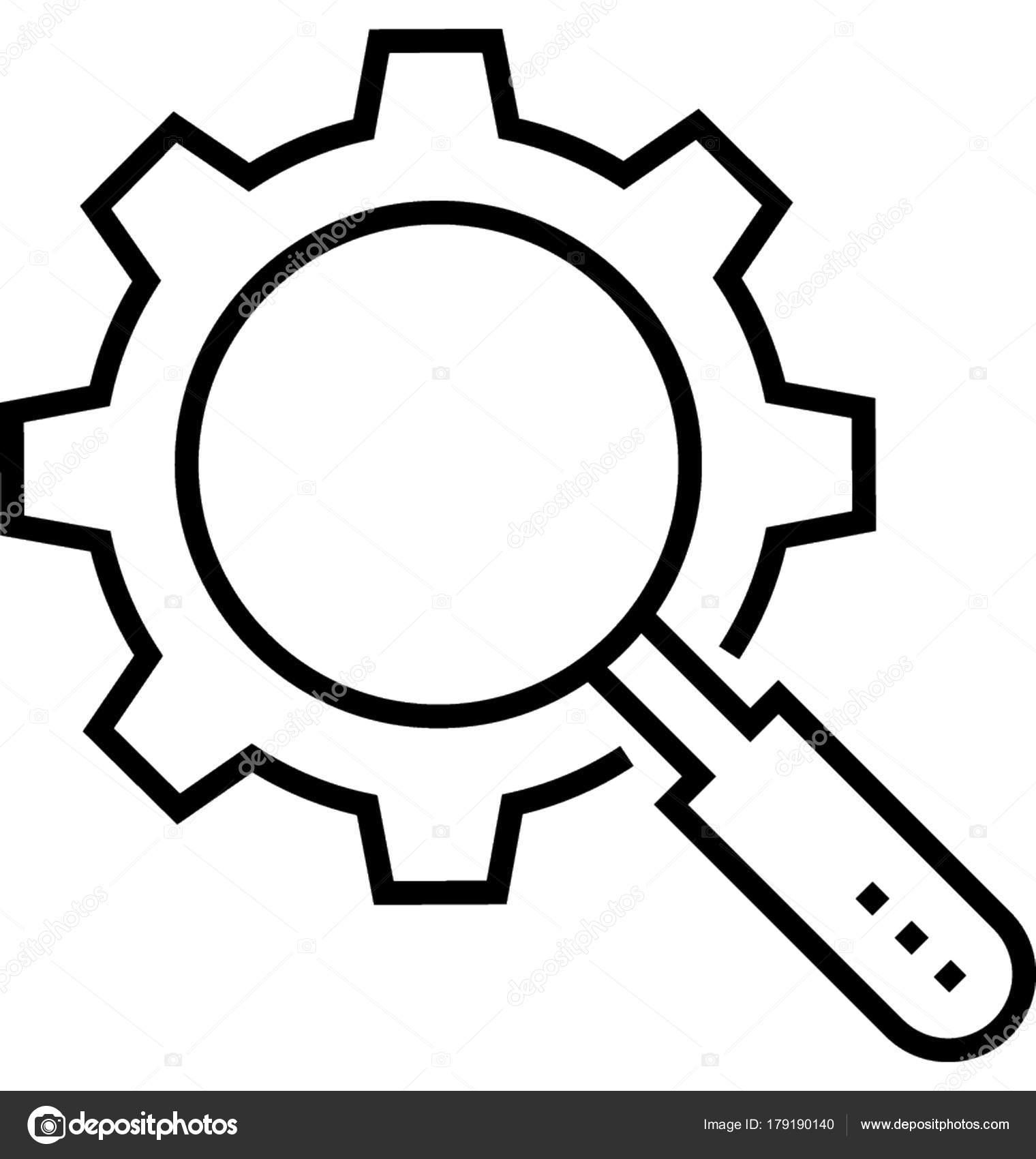 Search Engine Optimization Vector Icon