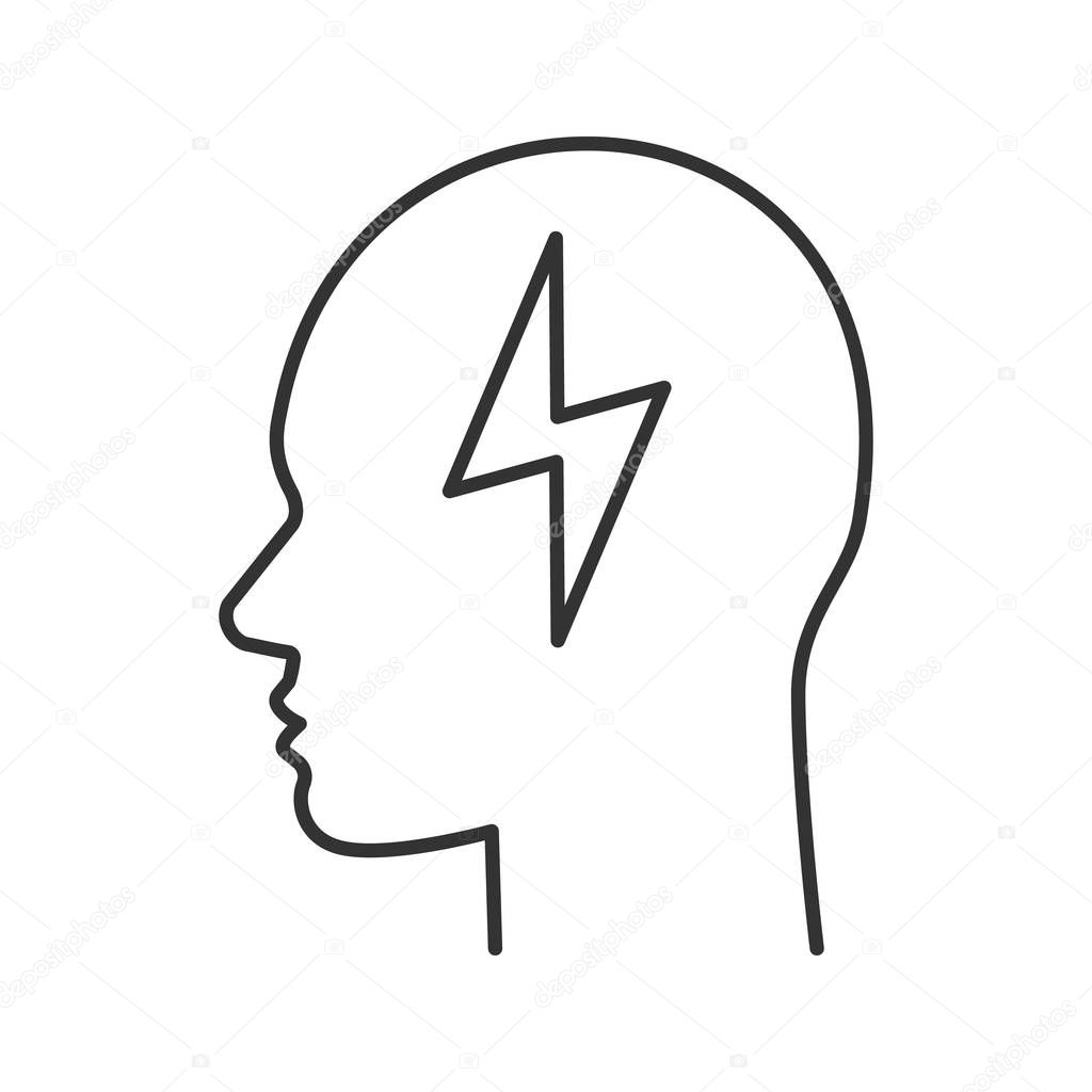 Human Head Outline Drawing