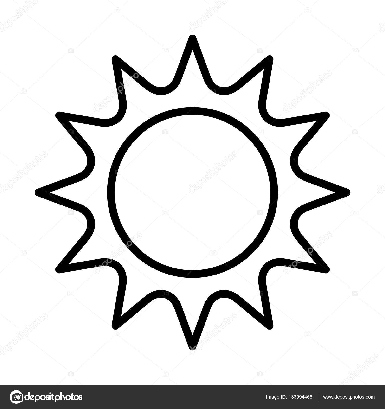 Sun Simple Icon