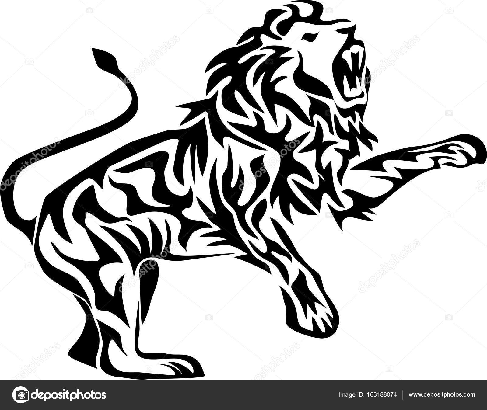Ing Lion Vector