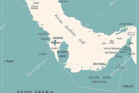 persian gulf map » Full HD MAPS Locations - Another World ...