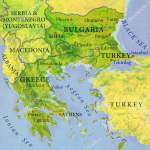 Map Of Turkey And Greece Geographic Map Of European Country Bulgaria Turkey And Greece Stock Photo C Bennian 152233318