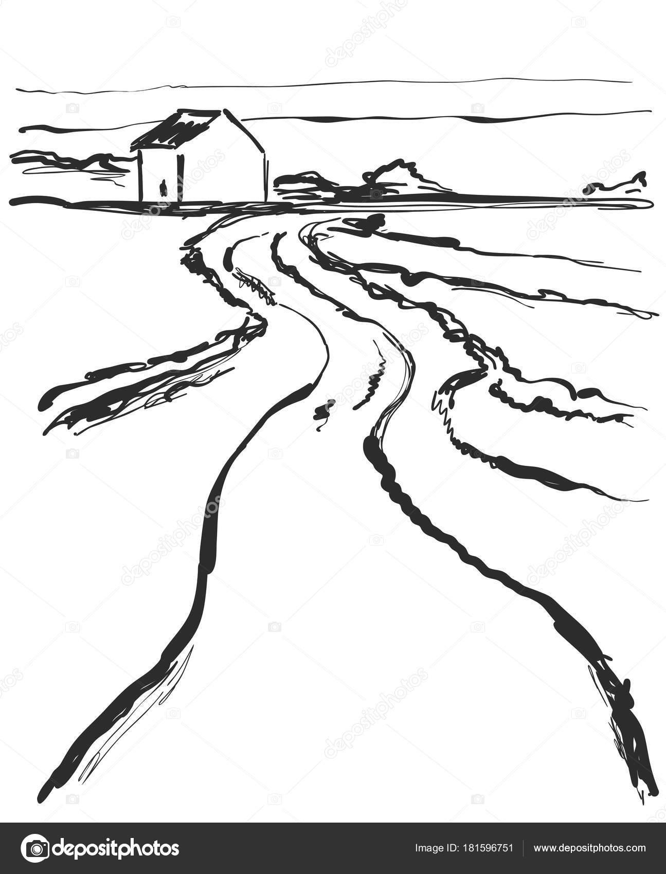 Imagenes Camino Dibujo