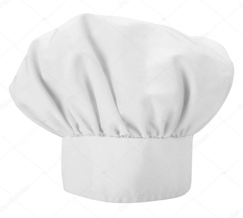 Chefs Hat Isolated On A White Background Stock Photo Image By C Plasticrobot 129193034