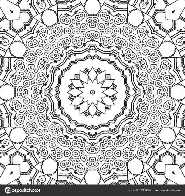 abstract coloring page # 22