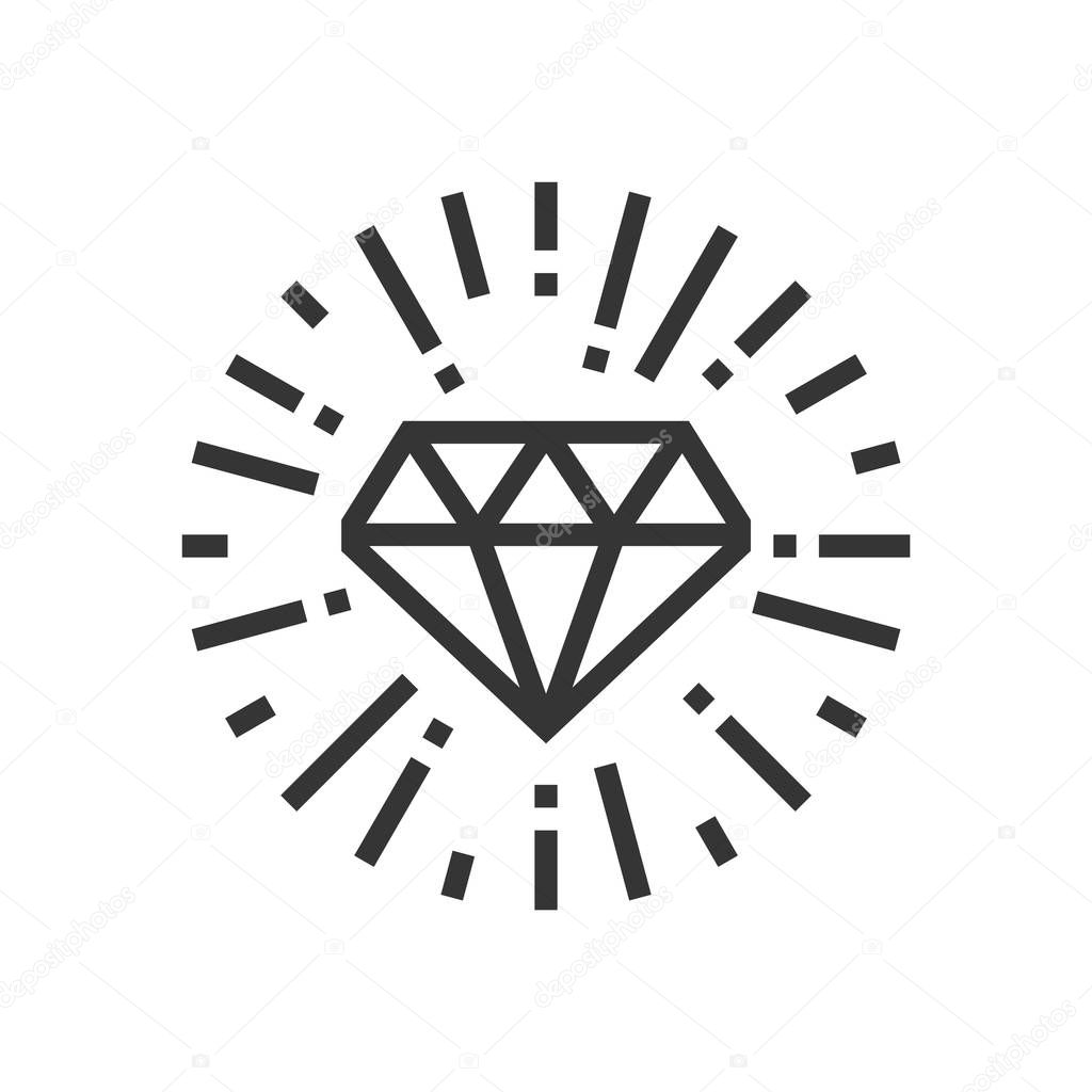 Diamond Icon Symbol