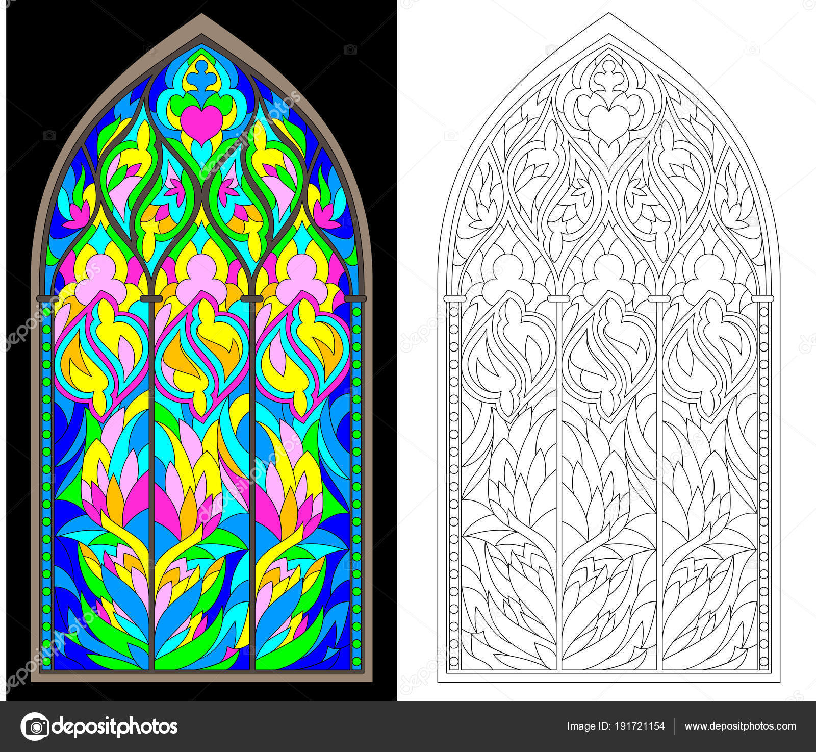 Stained Glass Windows Worksheet
