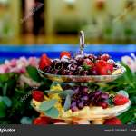 Decoration Fruit Plate Fruit Plate On The Table Of The Newlyweds Wedding Decoration Stock Photo C Gf2002 Mail Ru 164764470
