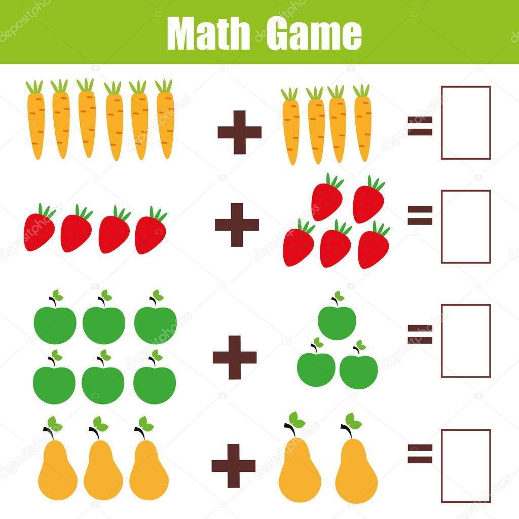 Jogo Educativo De Matematica Para Criancas Planilha De