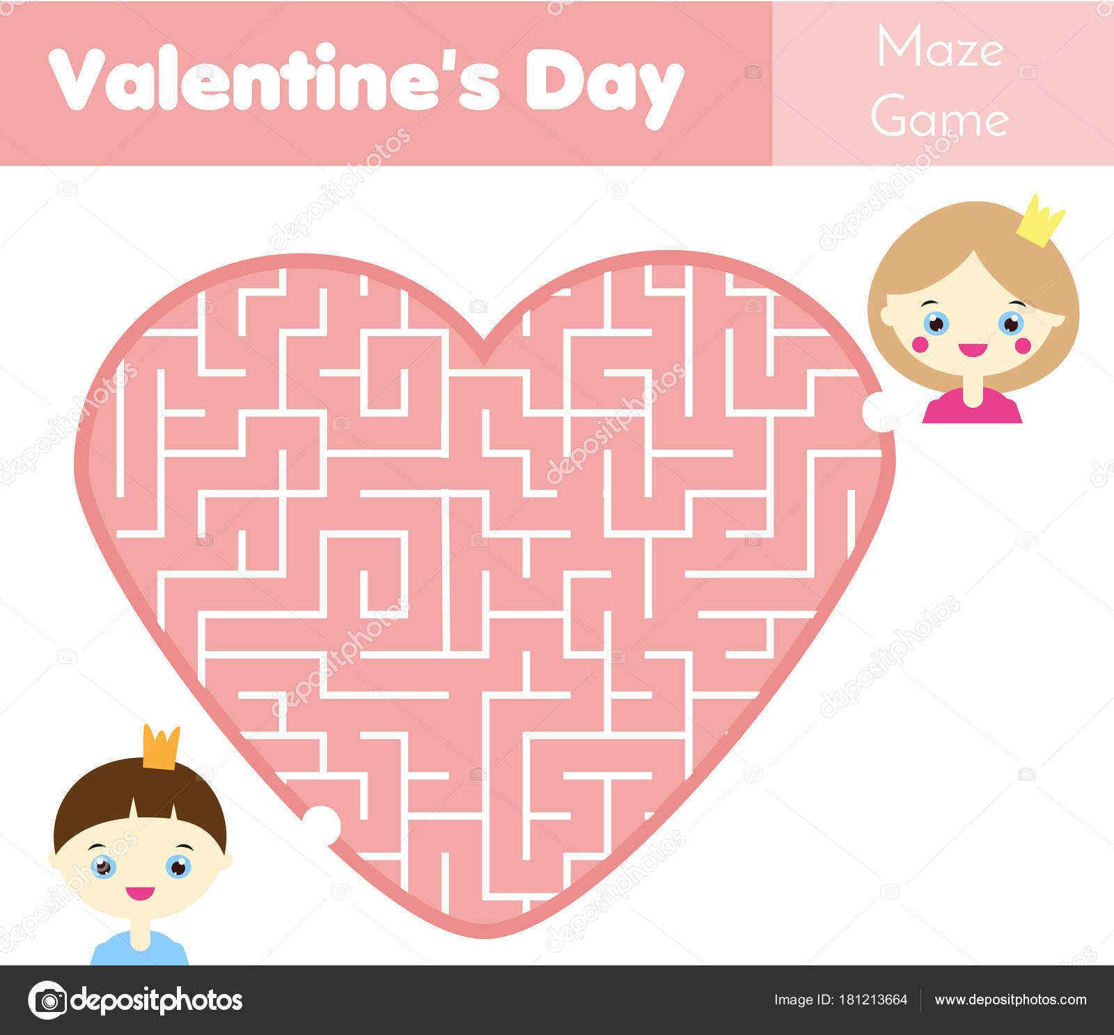 Valentines Day Activity Sheets For Kids