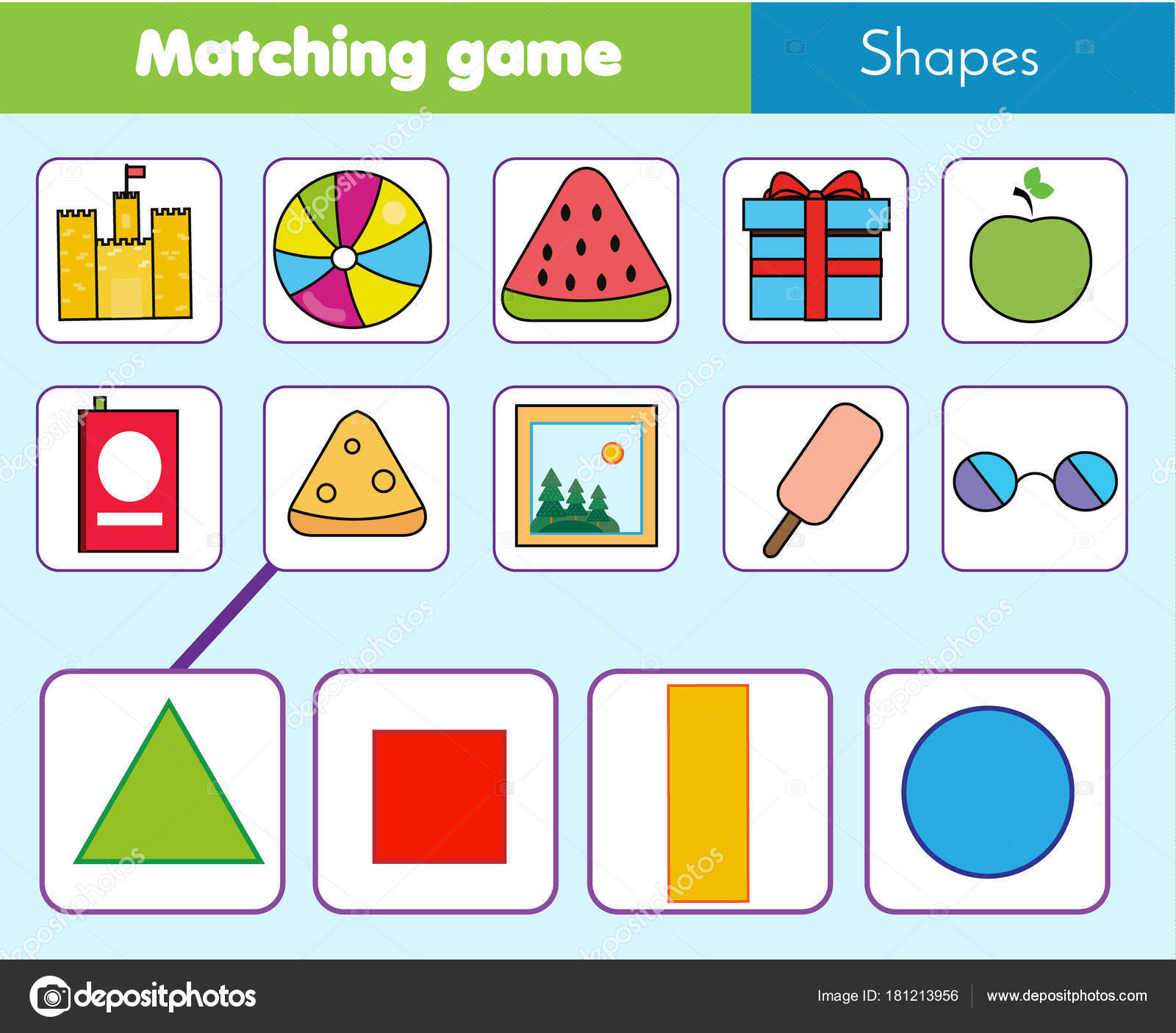 Matching Games Kindergarten Worksheet