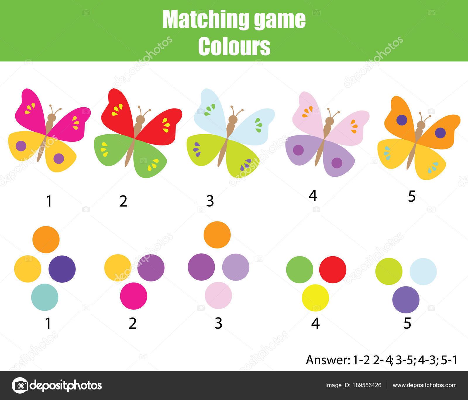 Worksheet Colors Game